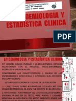 Epidemiologia  y  estadística  clinica