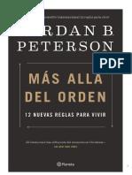 Más Allá Del Orden- 12 Nuevas Reglas Para Vivir - Jordan B. Peterson