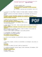 Todos Los Exámenes de Ps Fisiológica y Plantillas - Soluciones Marcadas- Yogui Del Pirineo Agosto 2020