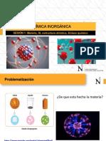 SEMANA 1 Materia, SI, Estructura atomica, Enlace quimico
