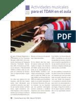 Actividades Musicales TDAH