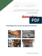 Chauffage Locaux Grands Volumes