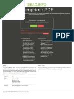 Isbac.info Compresor PDF en Línea Gratis - Compress-PDF.isbac.info
