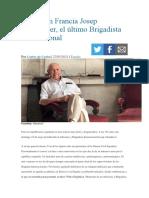 Fallece en Francia Josep Almudéver