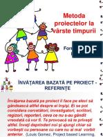 Metoda proiectelor