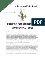 PROJETO SOCIOEDUCATIVO E AMBIENTAL