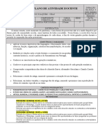 plano de aula português - 2º ano
