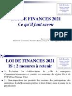 Loi de Finances 2021. Ce Qu Il Faut Savoir - Copie