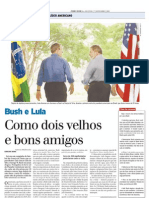 2005 - Visita do presidente George Bush ao Brasil