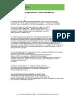 O processo de microfusão utilizando padrões fabricados por estereolitografia