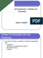 Areas Funcionales de Una Empresa RRHH PRODUCCION