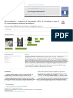 Bioremediation and biomass production of microalgae.español