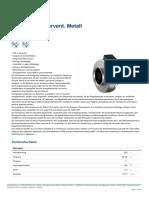 Systemair K 315M EC Rohrvent Metall