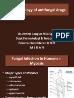 UHN Maret 2011,Pharmacology of antifungal drugs
