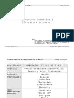 CuadroSinópticoMovimientosLiterariosEuropa