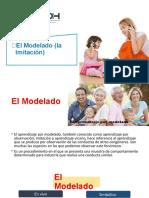 7.EL MODELADO - LA IMITACION