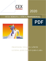 GUIA UNO ETICA PROFESIONAL JOSE FABIAN JARA LARA