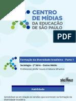 CMSP-Formação da diversidade brasileira – parte 1