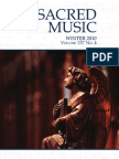 Sacred Music Winter 2010