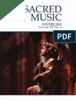 Sacred Music Winter 2010