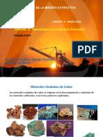 UNIDAD II PRIMERA PARTE OPERACIONES DE LA MINERIA EXTRACTIVA