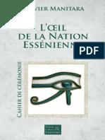 PDF Ceremonie Essenienne l Oeil de La Nation Essenienne