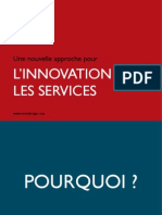 Innovation dans les Services - Design de services - VEEB DESIGN
