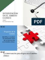 Intervención en El Ámbito Clínico 0.1