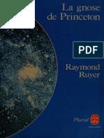 Raymond Ruyer La Gnose de Princeton