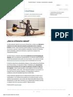 Derecho Natural - Concepto, características y ejemplos