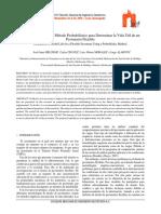 Implementación de un Método Probabilístico para Determinar la Vida Útil de un Pavimento Flexible