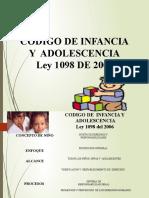 Codigo de La Infancia y Adolescencia
