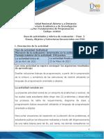 Guía de actividades y rúbrica de evaluación - Unidad 1 - Paso 2