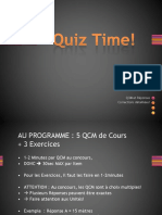 Diapo Tut'Rentrée (QCM) - UE3a Physique - Cours 1 (1)