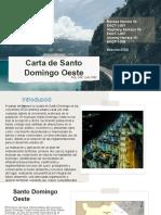 Carta de Santo Domingo Oeste (1)