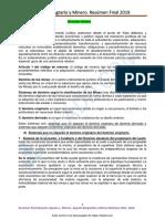 DERECHO AGRARIO Y MINERO Ubp