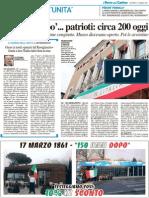 Onore ai nostri «parenti del Risorgimento» Grazie a loro l'Italia rialzò fiera la testa
