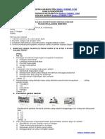 PAS Kelas 4 Tema 9 PPKn dan B.Indonesia Semester 2 Tahun 2020-2021 Sinau-Thewe.com