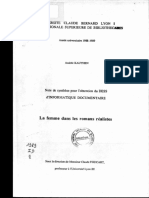 63690 La Femme Dans Les Romans Realistes