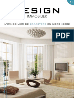 Design Immobilier Magazine July-August 2010 French