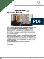 Premiati i migliori studenti dell'Università di Urbino - L'Altrogiornale.it, 27 maggio 2021