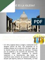 Presentacion Lo Que Es La Iglesia Para Confirm an Dos Adultos