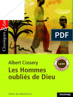 les hommes oubliés de dieu - Cossery Albert