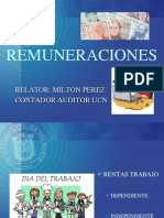 Remuneraciones en Chile. Por MILTON PEREZ