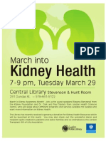 March into Kidney Health