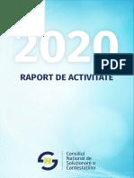 Consiliul Național de Soluționare a Contestațiilor - raport de activitate 2020
