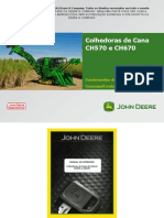 John Deere- Fundamentos de Serviços- Command Center CH570-CH670