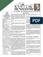 Datina - 28.05.2021 - prima pagină