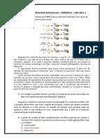 Exercicios - Farmácia - Biomol 18.05.2021 Para Entrega