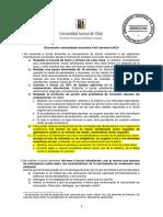 Acuerdos del Comité de Análisis curricular sobre clases y exámenes 2021 05 27